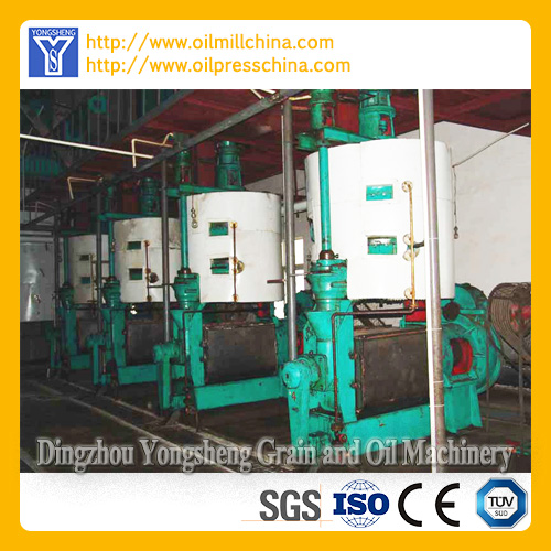 Sunflower Oil Processing Machinery