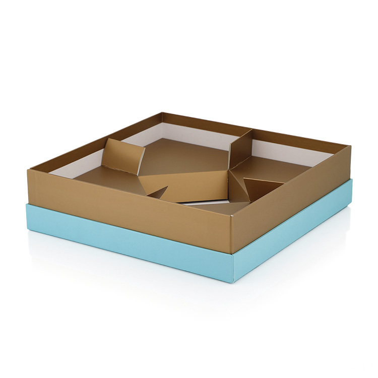 Art paper Printing Plastic Windowed Glossy Gift Boxes