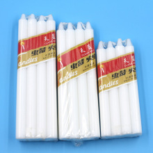 Popular Design for for Solid Candles 38g/40g white plain paraffin household candle supply to United States Suppliers