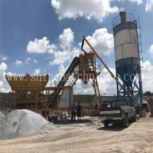 Mobile Concrete Batch Plant for Indonesia