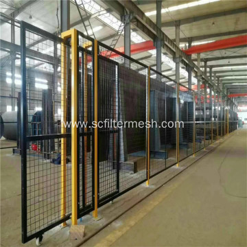 Galvanized /PVC Coated Frame Fence