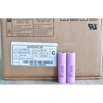 Samsung ICR18650-35E li ion battery cell