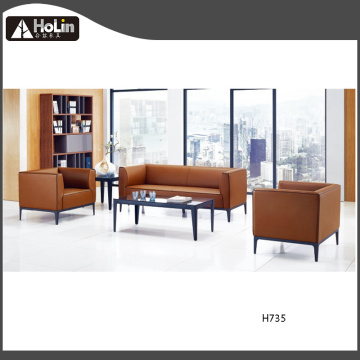 PU Leather Luxury Hotel Lounge Office Sofa