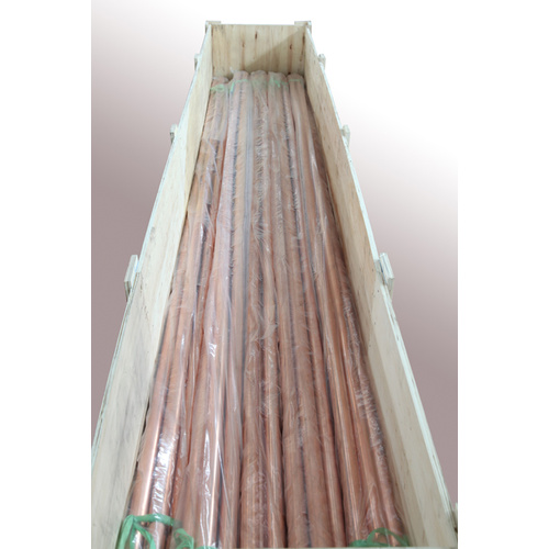 Hard temper straight copper pipe