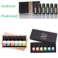 TOP 6 100% pure essential oil set