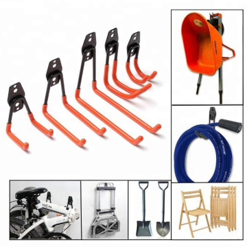 8-Pack Steel Rust Resistant Garage Hooks