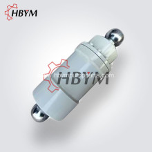 2 HolesPlunger Cylinder For Concrete Pump