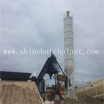35 Ready Construction Mobile Concrete Batching Plant