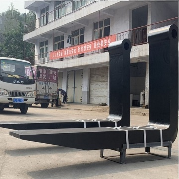 good material heavy forged forklift forks of 60ton