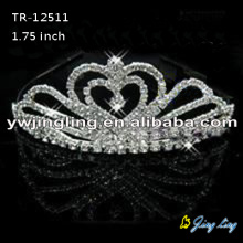 Rhinestone Wedding Tiara Wholesale Pageant Crown