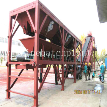 Mobile Concrete Mixing Plants