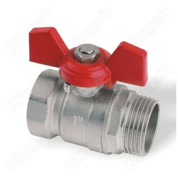 Forged Brass Ball Valve Standard Butterfly Handle