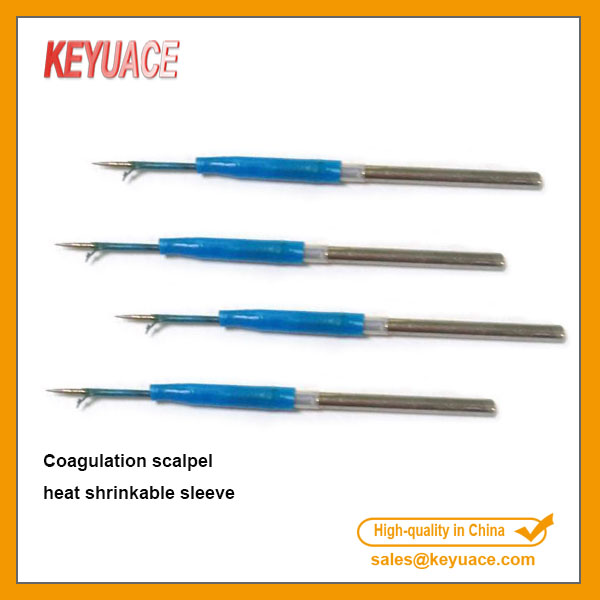 Kynar coagulation scalpel heat shrinkable tube (1)