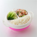 Baby Tableware Double Layer Heat Resistant Bowl