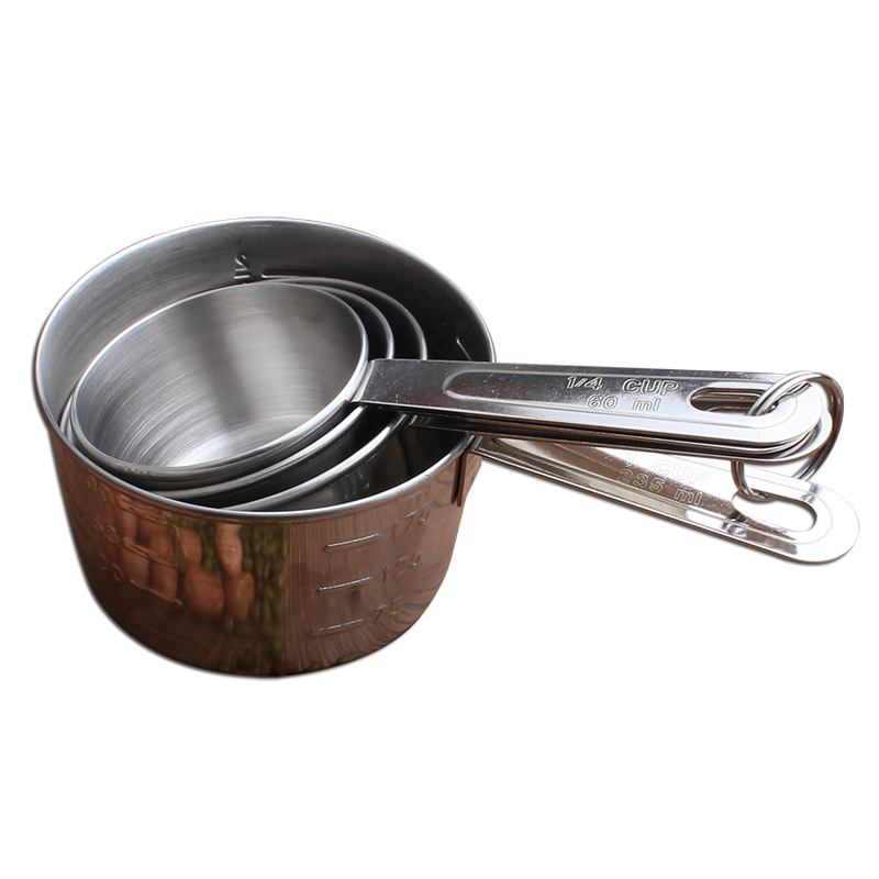 18/8 Newest Stainless Steel Measuring cup set
