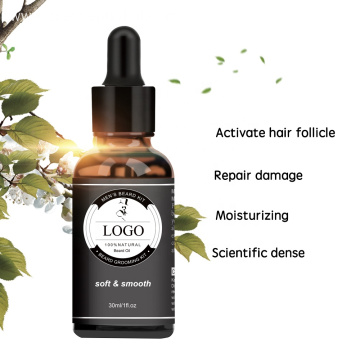 Pure natural extract beard oil for men