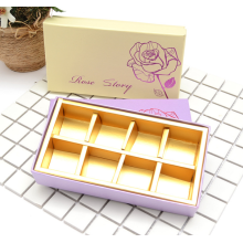 Chocolate praline packaging box