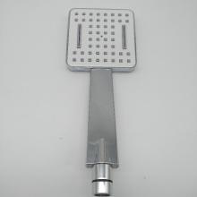 chrome sliding suction panel shower head