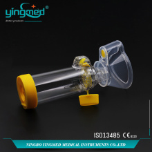 Wholesale Price for Best Medical Nebulizer Mask With Mouthpiece,Nebulizer With Mouth Mask,Medical Nebulizer Mask,Disposable Nebulizer Mask Manufacturer in China Aero Chamber With Silicone Mask supply to Costa Rica Manufacturers