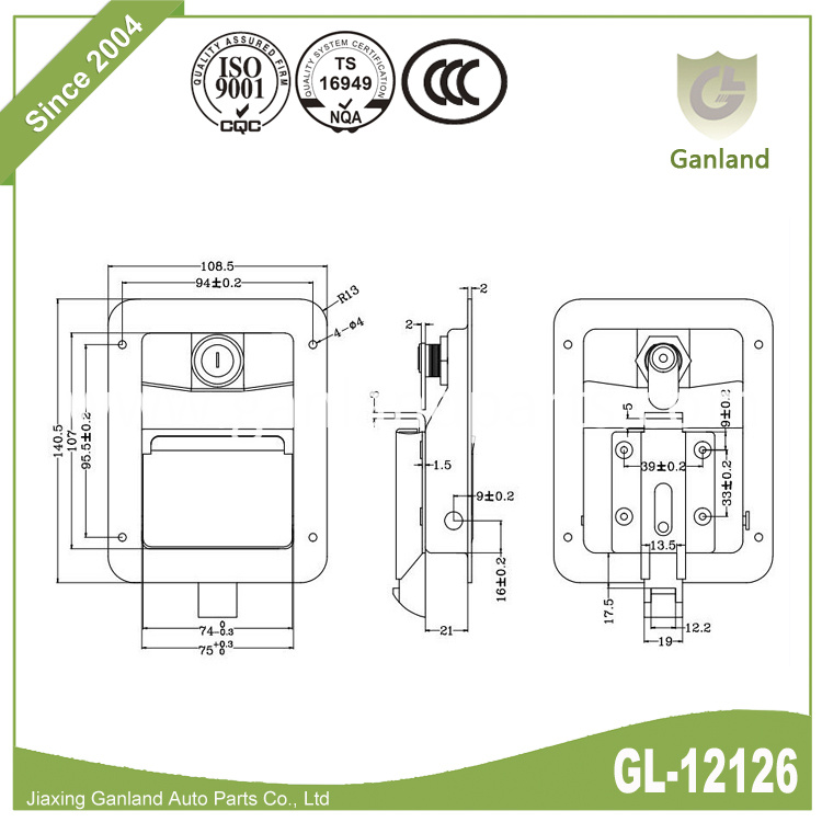 Single Point Lock GL-12126