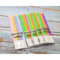 0.37CM Diameter 4-Colored Birthday Pencil Candle