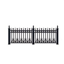OEM/ODM for Powder Coated Fence Aluminum Fence Panel Decorative Quality Factory Design export to Belgium Exporter