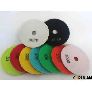 4inch wet granite polishing pad
