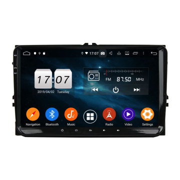 Vendita calda android 9.0 car dvd VW universale