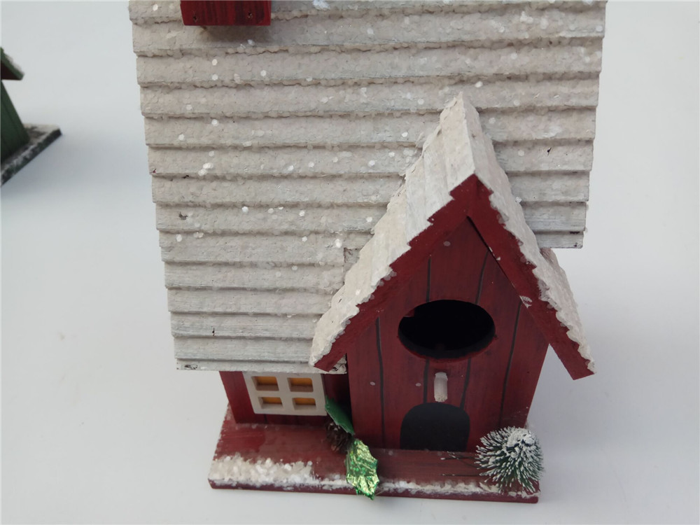 pation are wooden bird house