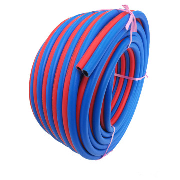 Blue and red twin welding hose for sale