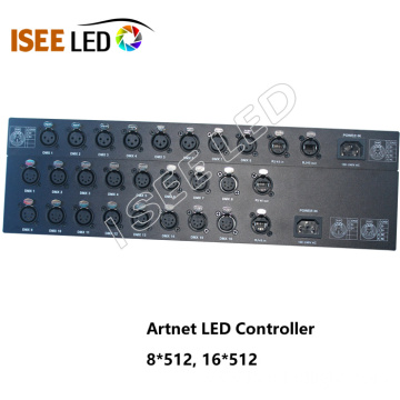 Disco equipment DMX LED 20universes artnet controller