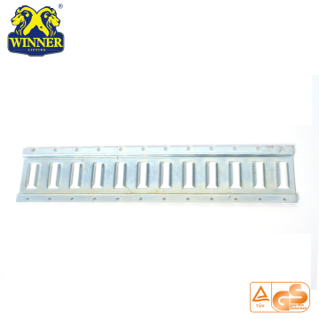 Accessories Steel Galvanized Slotted E Track Rail