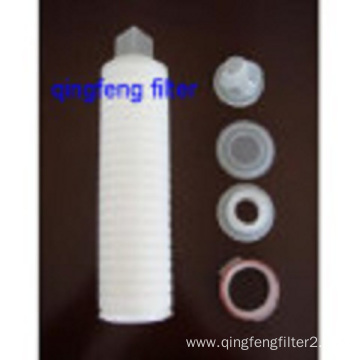 10inch PVDF Pleated filter Cartridge