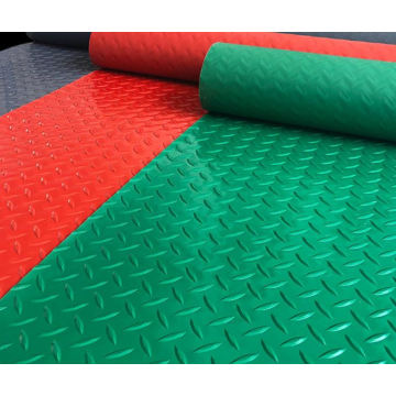 Diamond backing mat / pvc coin floor mat