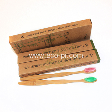 Free Samples Private Label Charcoal Bamboo Toothbrush