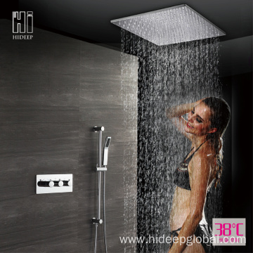 Full Copper Thermostatic Shower Faucet Set