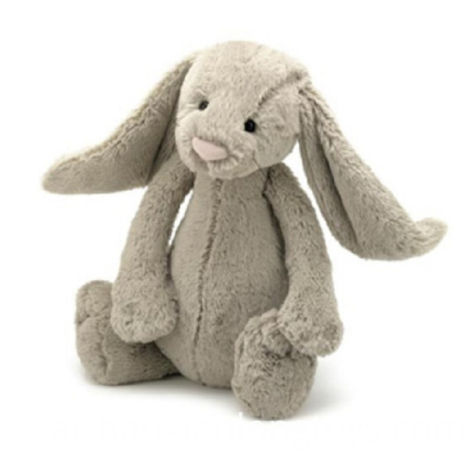 Big White Rabbit Plush Toy