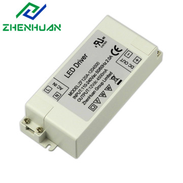 54W 12V 4500mA DC-utgang Led Drivers Transformer