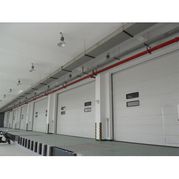 Industrial Overhead Sectional Lifting garage door