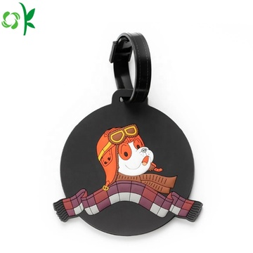 New Product Portable PVC Luggage Tag for Suitcase