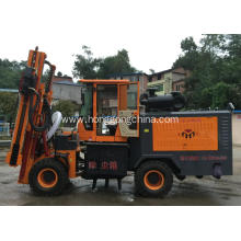 Fixed Competitive Price for China Pile Driver With Screw Air-Compressor,Guardrail Driver Extracting Machine,Highway Guardrail Maintain Machine Manufacturer Tyre Moving Pile Driver supply to Anguilla Wholesale