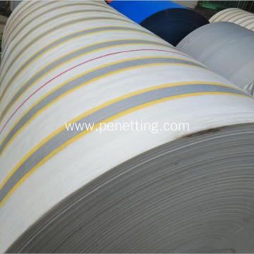 100% virgin stripe PE tarpaulin