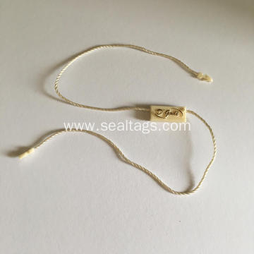 Clothing Plastic Seal String Hang Tag