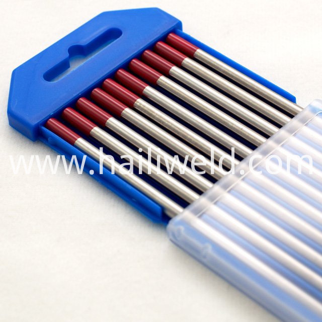 Wt 20 Thorium Tungsten Electrode Red Colour