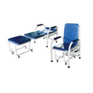 Steel spray escort chair (with handrails)