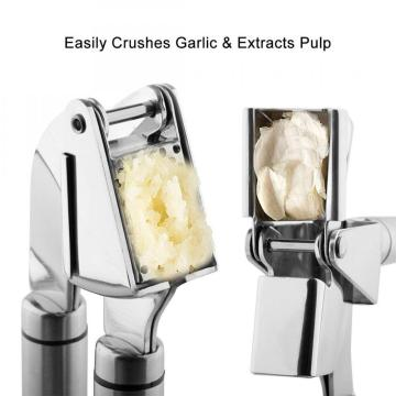 Heavy Duty Stainless Steel Garlic Press Grinder