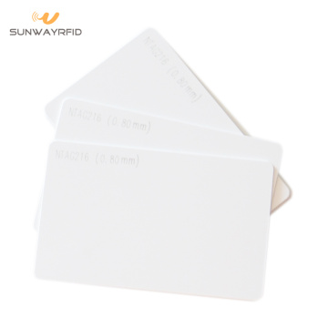 Blank NTAG216 Contactless Smart Card