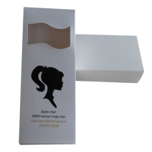 Fancy design hair extension packaging box