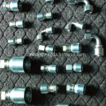 Ferruler-Union Hydraulic Hose Crimp straight Fitting Connectors