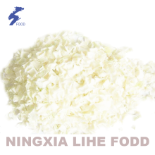 White onion flakes granula